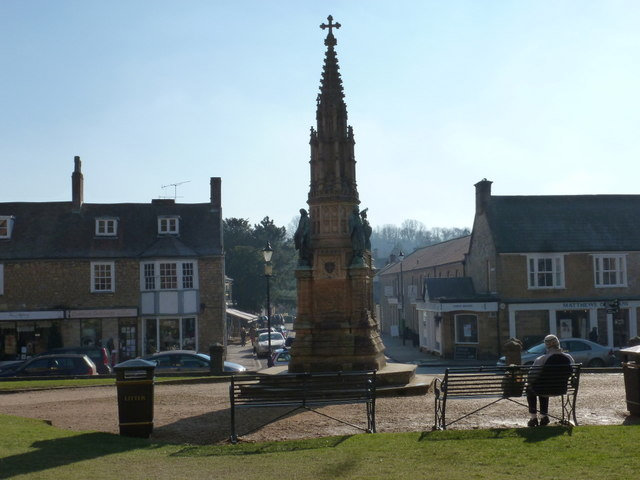 Sherborne: Wingfield Digby memorial from behind