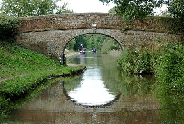 Tyrley Castle Bridge near Market Drayton, Shropshire