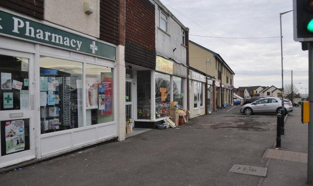 Chepstow : Bulwark Road Shops