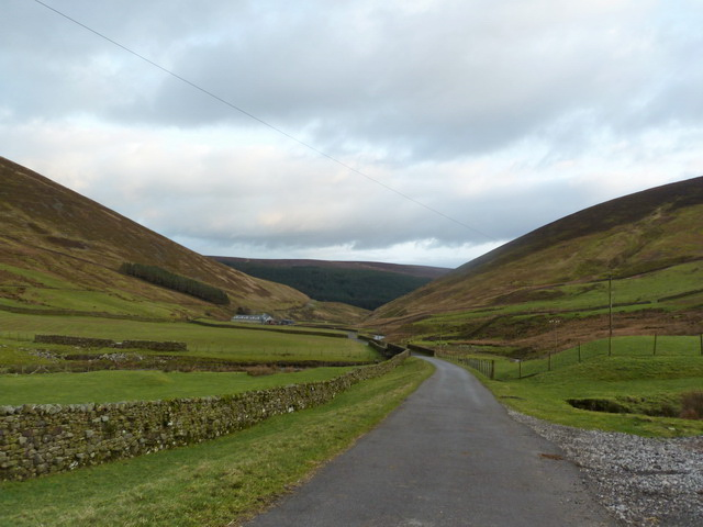 Looking down Brennand Valley from Higher Brennand Farm