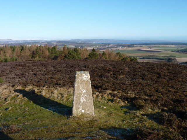 Lucklaw trig point