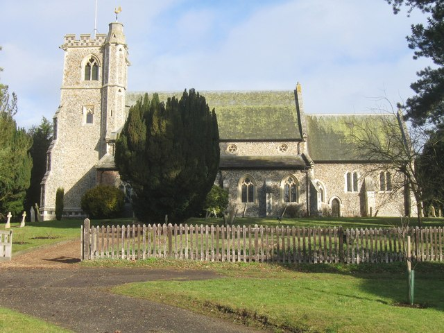 The Church of St. Mary the Virgin.  Arkesden. Essex