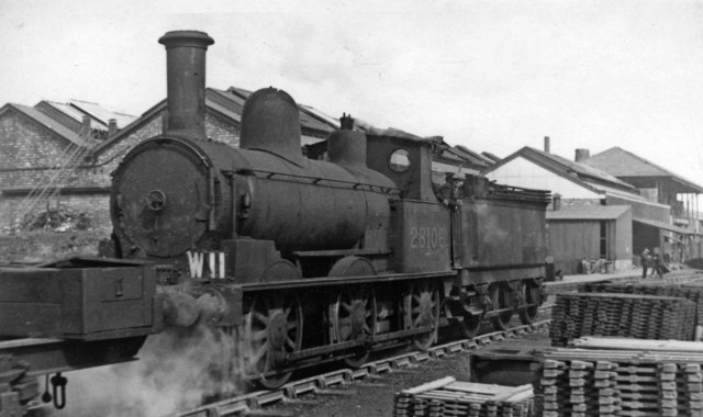 Ex-LNW 'Coal Engine' 2F 0-6-0 as Works Pilot at Crewe