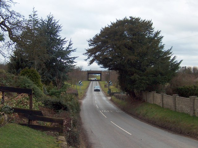 Killamarsh Lane, Woodall