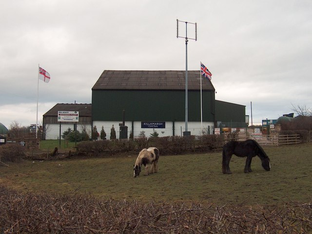Rendering Plant near Highmoor Farm, Killamarsh