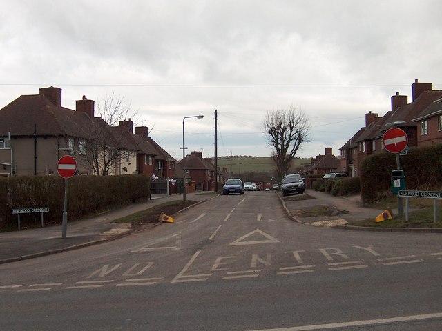 Norwood Crescent, Killamarsh