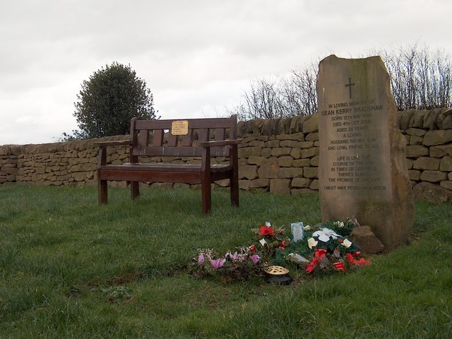 Grave and walled memorial ground