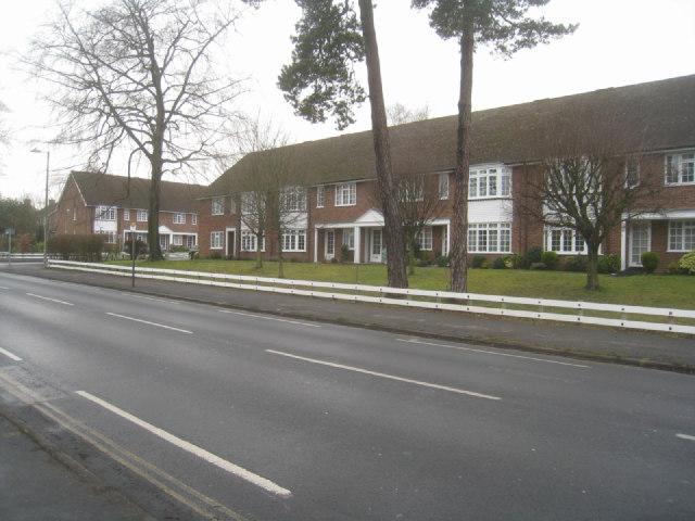 Housing along Fleet Road