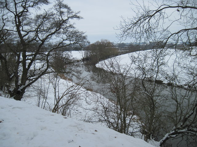River  Derwent  from  the  edge  of  Minster  Hill