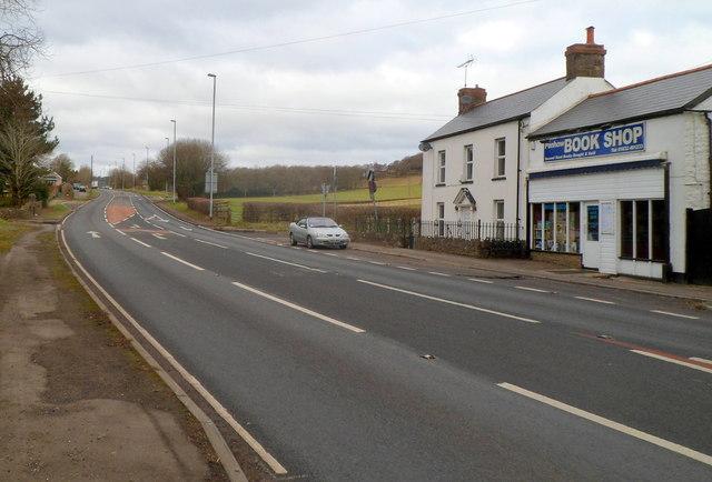 A48 heads through Penhow