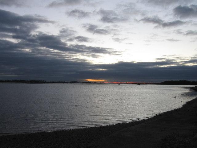 Emsworth, sunset
