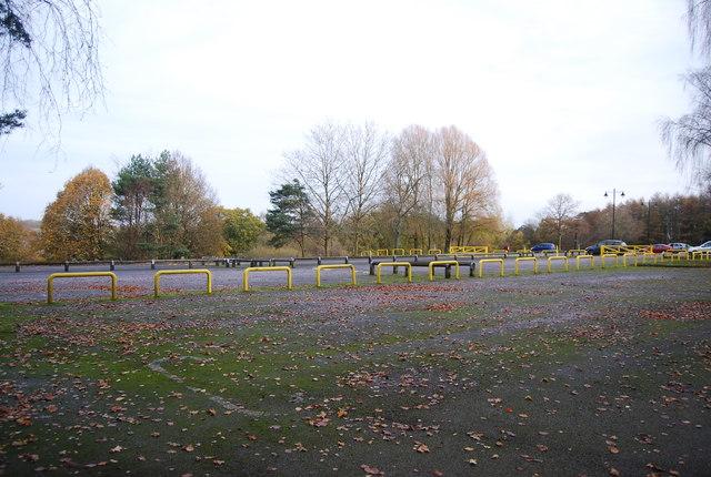 Car park, Tilgate Park