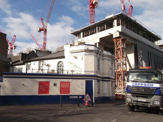 Development overshading Anglesea Arms