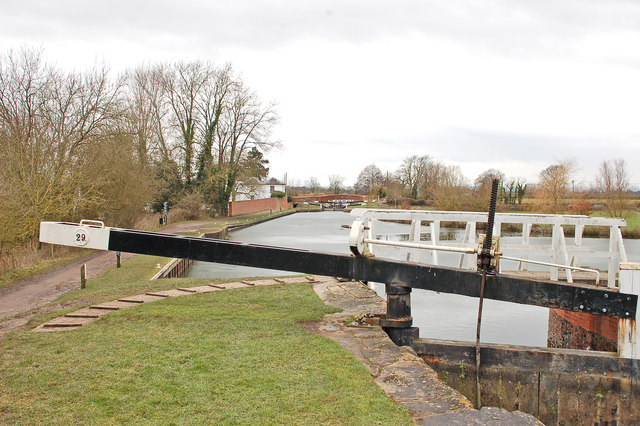Kennet and Avon Canal at Caen Hill Flight (Lock 29)