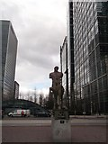 TQ3780 : Centauro Bronze Statue, Canary Wharf, Isle of Dogs by David Anstiss