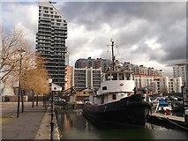 TQ3880 : Poplar Dock (2) by David Anstiss