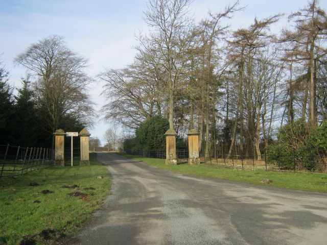 Entrance to Cliffe Hall