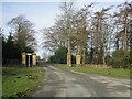 NZ2114 : Entrance to Cliffe Hall by peter robinson
