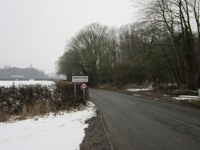 Heath End Road at Heath End