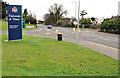 J3683 : University entrance, Jordanstown, Newtownabbey (1) by Albert Bridge