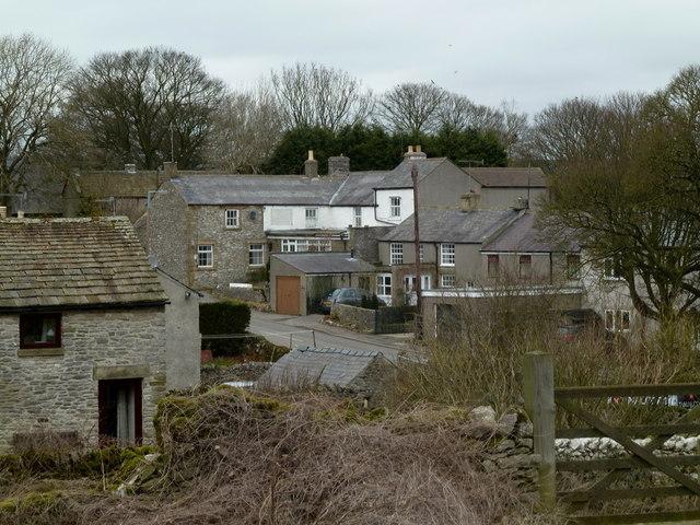 Wardlow village scene