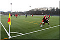NT5035 : The first match on the new 3G pitch at Netherdale, Galashiels by Walter Baxter