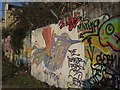 ST7565 : Graffiti, Bath by Derek Harper