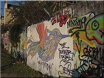 ST7565 : Graffiti, Bath by Derek Harper