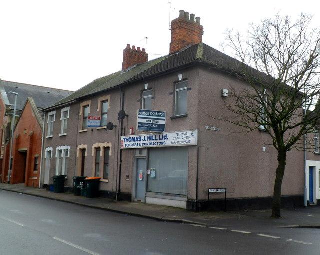 Former Thomas J. Hill Ltd premises for sale, Newport