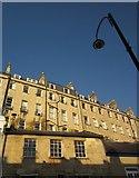 ST7565 : Buildings on and above Walcot Street, Bath by Derek Harper