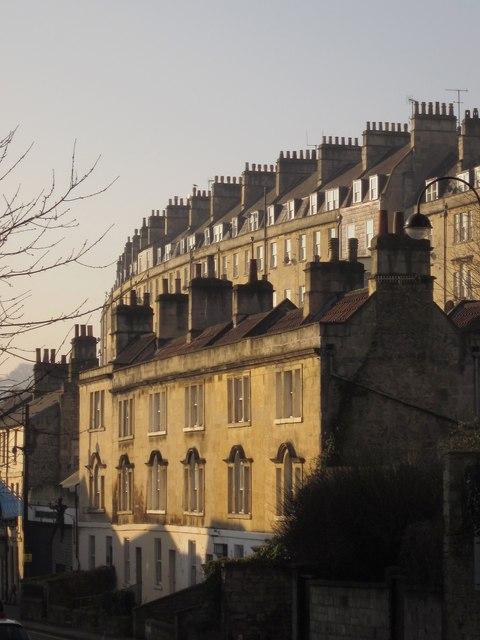 Terraces in Bath