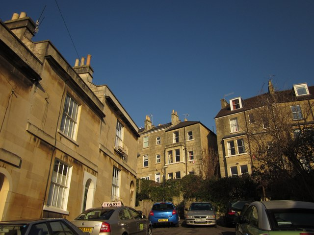 Top of Brunswick Street, Bath