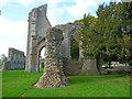 ST5038 : Glastonbury - Glastonbury Abbey by Chris Talbot