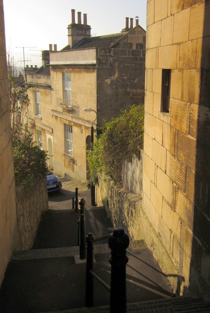 Steps to Brunswick Street, Bath