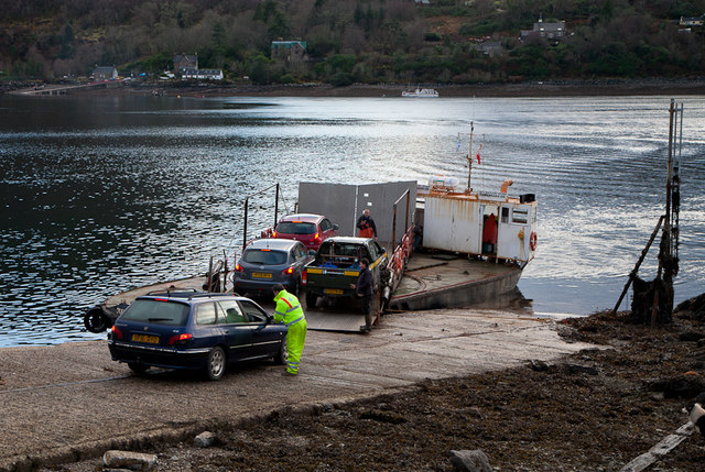 Ferry at North Strome