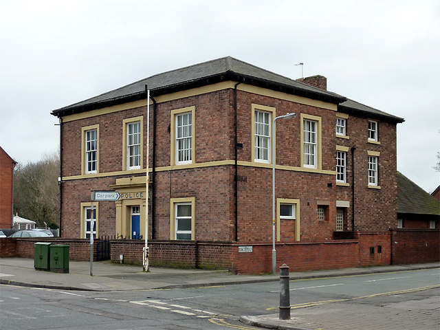 The former police station in Bilston, Wolverhampton