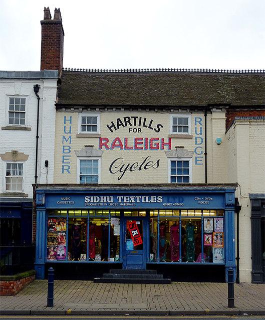 Old shop, new trade in Bilston, Wolverhampton