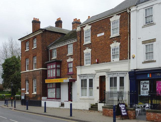 Buildings in Mount Pleasant, Bilston, Wolverhampton