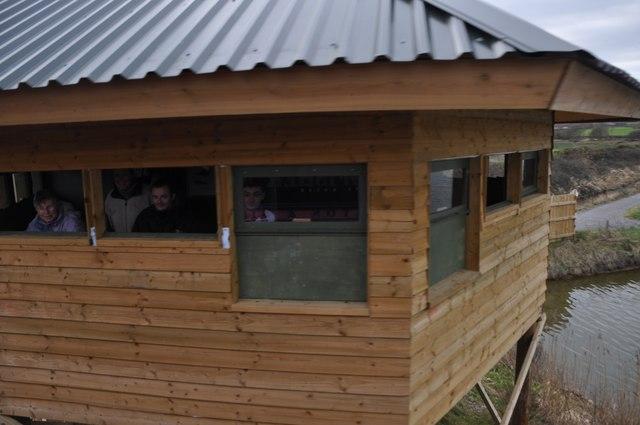 East Devon : Bird Watching Hut
