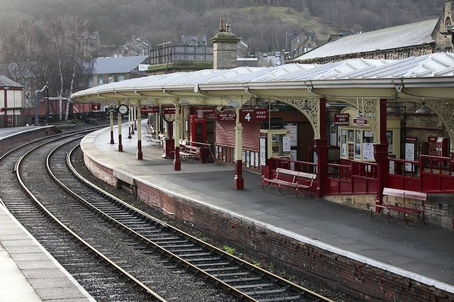 Keighley & Worth Valley Railway Station at Keighley