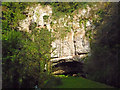 ST5347 : Wookey Hole - Cave Entrance by Chris Talbot