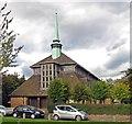 TQ1483 : Holy Cross, Ferrymead Gardens, Greenford by John Salmon