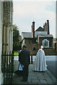 TQ7468 : The Bishop has left the building by Stephen Craven