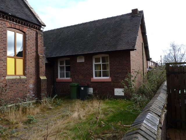 The old Sunday School building at Muxton