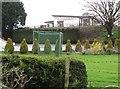 J1428 : The Club House at Mayobridge Golf Course by Eric Jones