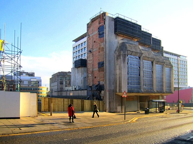 Demolition of the former Bank of England, Pilgrim Street