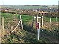 TQ5265 : Footpath near Eynsford by Malc McDonald