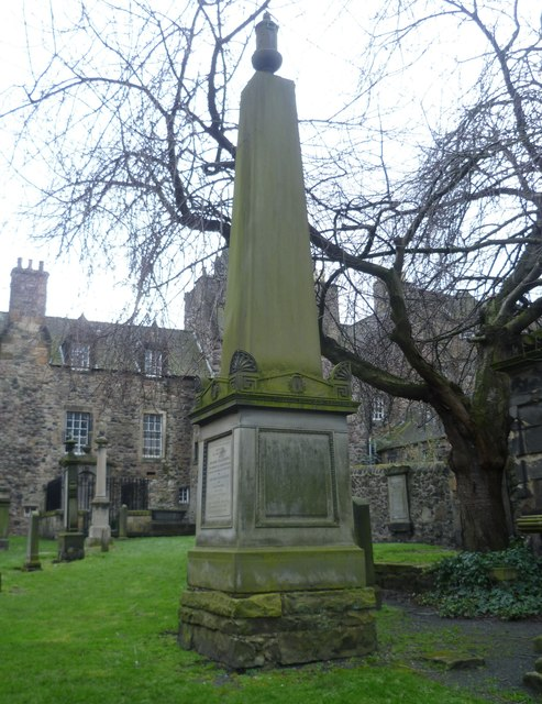 George Chalmers Monument, Canongate Kirkyard