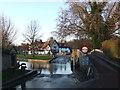 TQ5465 : River Darent at Eynsford by Malc McDonald