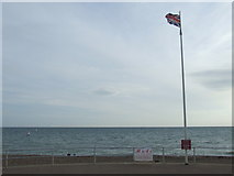 TQ7407 : Union flag, Bexhill by Malc McDonald